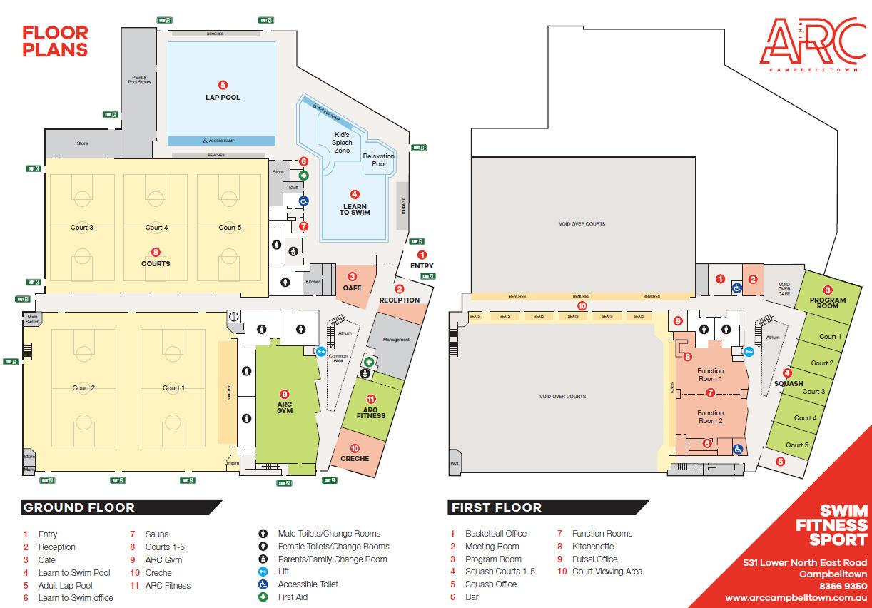 ARC Map Interior
